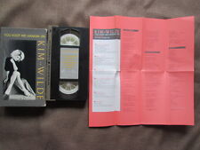 KIM WILDE You Keep Me Hangin' On JAPAN VHS 08WV-55140 w/SLIP CASE+INSERT Free SH