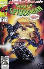Web of Spider-Man #96 (Venom Ghost Rider Marvel Comics)