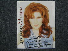 JO DEE MESSINA  9    #1  Country Music  Hits  Signed   8 X 10   Color   Photo