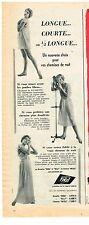 PUBLICITE ADVERTISING  1954   VITOS  lingerie nuisette