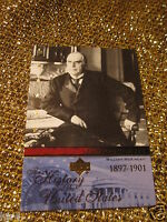 William McKinley USA History American US United states President Card