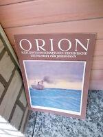 Orion, Zeitschrift für Natur und Technik, Heft 21 1950, Ausgabe A