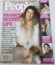 People Weekly Magazine Shania Twain's Secret Life, Rosie's Baby Dec 2002 020413R
