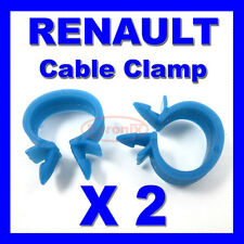 RENAULT CABLE PIPE CLAMP WIRES WIRING LOOM HARNESS CLIP HOLDER 14mm