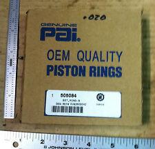 Cummins PAI Piston Ring Set .020 -  505084 - NSN 2815-01-243-6299 - NEW - E2014