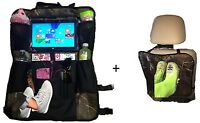 Zzteck Camo Car Back Seat Organizer and Kick Mat iPad/Tablet Holder Touch Screen