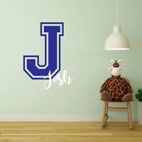 Personalised Childrens Child Kids Nursery Name Letter Personalized Bedroom A407