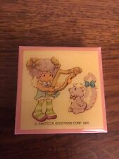 Strawberry Shortcake Vintage Angel Cake Pin Brand New