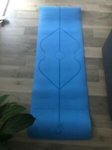 5mm Exercise and Yoga Mat - Blue 180 long 58 wide