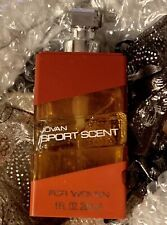 JOVAN SPORT SCENT for WOMEN 1oz Cologne Concentrate Spray New Rare