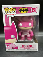 Funko Pop! Heroes Batman #351 BCRF Pink Breast Cancer Awareness Figure MINT NEW