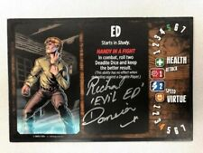 Evil Dead 2 Board Game - Signed Rick Domeier Player Card (Ed) Very Rare