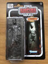 Star Wars Black Series Han Solo en Carbonita 40th Aniversario Figura Rara