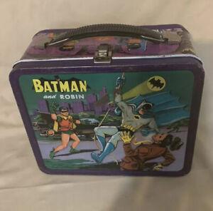 Vintage 1966 Batman And Robin Metal Lunch Box
