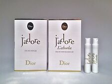 Christian Dior J'Adore Eau de Parfum +  J'Adore L'Absolu sample vial 2 x 1 ml