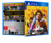 Yakuza: Like A Dragon - ReplacementPS4 Cover and Case. NO GAME!!