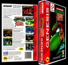 TMNT Turtles Tournament Fighter - Sega Genesis Reproduction Art Case/Box No Game