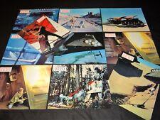 le retour du jedi  STARS WARS  jeu 10 photos lobby cards  cinema g lucas