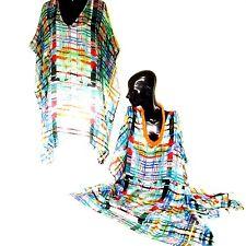 Kaftans /100% Silk / Wholesale/ Vibrant Colours / Very Light & Cool/ Knee Length