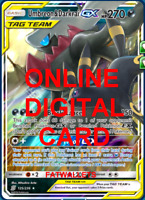 1X Umbreon & Darkrai GX 125/236 Unified Minds Pokemon Online Digital Card