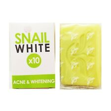 Snail White Soap Acne Whitening Skin Glutathione Anti-Aging Reduce Body Face 70g