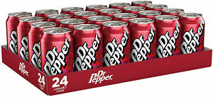Dr Pepper Fizzy Drinks 12 x 330ml Cans