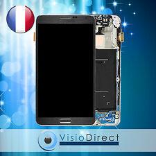 Ecran vitre complet sur chassis pour Samsung Galaxy Note 3 N9000 N9005 gris