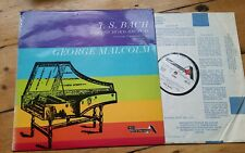 SDD272 JS BACH - Harpsichord Recital GEORGE MALCOLM Ace of Diamond LP