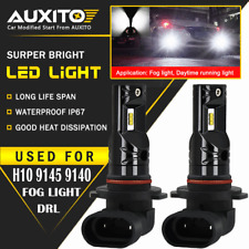 AUXITO 9145 9140 H10 LED Fog Lights for Ford F150 2004-2018 F250 F350 2011-2015
