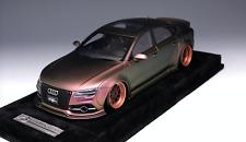 1/18 AB Models Audi A7 Liberty walk LB Performance Chameleon Alcantara Last one