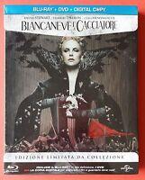Biancaneve E Il Cacciatore - Blu-Ray + Dvd Steelbook Tiratura Limitata - Nuovo