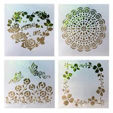 Layering Stencils Template For Walls Painting DIY Scrapbooking Stamping Dec Y2S2