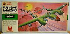 Hasegawa 1:72 Plastic Model Kit U.S.Army P-38J/L or F Lightning Box