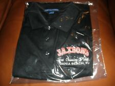 Men's JAXSON'S Ice Cream Parlor (Dania Beach) Polo Shirt size Large, New in Bag
