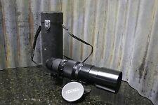 Asahi Pentax Takumar 400mm f/5.6 M42 Screw Mount Lens Great Condition FREE S&H