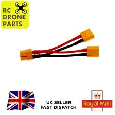 XT60 PARALLEL Y HARNESS LEAD CABLE 2 BATTERIES IN PARALLEL SPLITTER LIPO UK