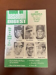 November 1969 Baseball Digest