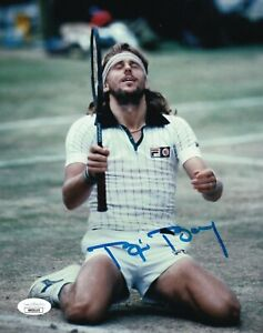 Bjorn Borg REAL hand SIGNED Photo #2 JSA COA Autographed Tennis Wimbledon