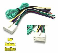pin stereo radio wiring wire harness for clarion skcl  item 3 car stereo radio replacement wire harness plug for select clarion dvd radios