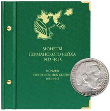 ✔ Premium Album for coins of the German Reich 1933 – 1945 1 2  5 10 Reichsmark