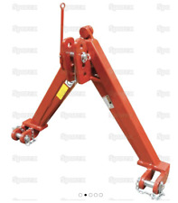 AUTO HITCH 3 POINT LINKAGE NEW TRACTOR IMPLEMENT A FRAME UPTO 1400KG. Bale Spike
