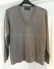 M&S COLLECTION - MEN EXTRA FINE MERINO WOOL JUMPER TOP SIZE L