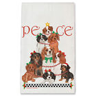 Cavalier King Charles Peace Tree Christmas Kitchen Towel Holiday Pet Gifts
