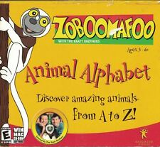 Zoboomafoo Animal Alphabet Discover Animal A to Z Video Game PC Win 98 ME XP Mac