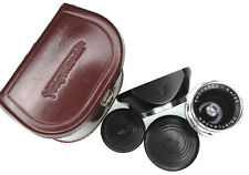 Voigtlander 35mm f3.4 Skoparex DKL mount  #5345874  ........... W/Case,Hood