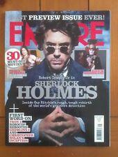 Empire September 2009 Sherlock Holmes (Downey Jr), Tim Burton, Johnny Depp