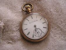 Antique Elgin Pocket Watch with Beautiful Case