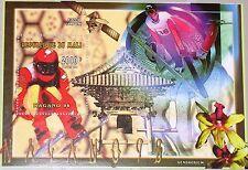 MALI 1996 Block 99 A S/S 856 Winter Olympics 1998 Nagano Downhill Skiing MNH
