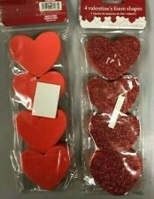Valentines Foam Shapes (2.50 in/2.75in)