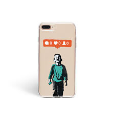 iPhone 11 XR Banksy Case iPhone X XS Max Art Cover iPhone 7 8 Plus Graffiti Skin